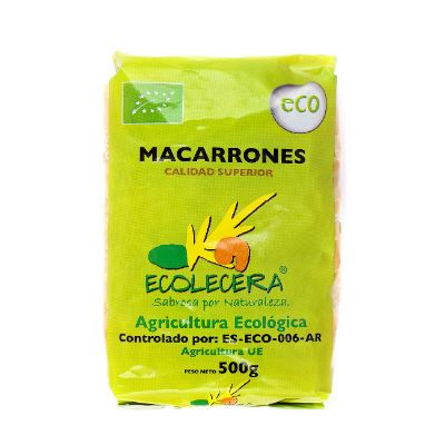 Macarrons Ecolecera 500 Gr