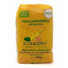 Macarrons Integrals Ecolecera 500 Gr