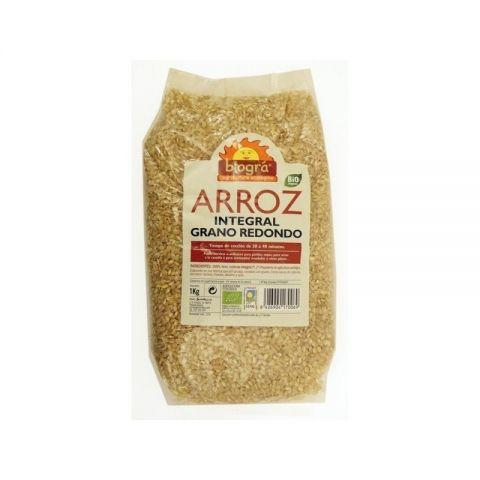 Arròs Rodó Integral 1 Kg Biogra