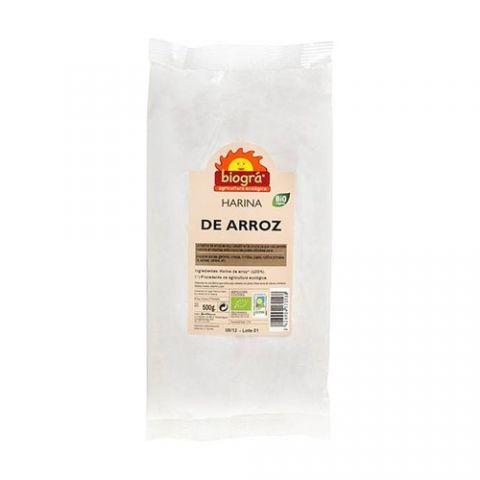 Farina arròs 500 Gr Biogra