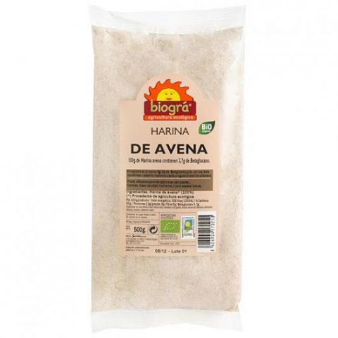 Farina de civada 500 Gr Biogra