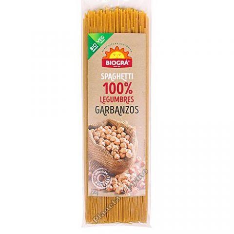 Spaguetti de cigrons 250 Gr Biogra